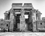 Kom Ombo in Monochrome
