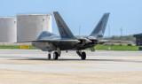 USAF F-22 Raptor - Ready to take off