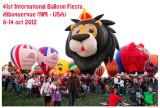 ALBUQUERQUE - USA - 2012 International Balloon Fiesta