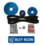 Yanmar Serpentine Pulley Kits