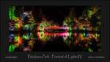 Pukekura Park - Festival of Lights IV