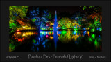 Pukekura Park - Festival of Lights V
