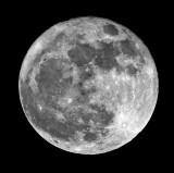 Waxing Moon to Full