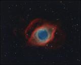 Helix nebula - Hubble color mapping