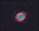 Helix nebula - RGB image