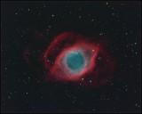 Helix nebula - LRGB image