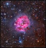 The Cocoon nebula 2018
