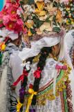 Detail of the women's headdresses
