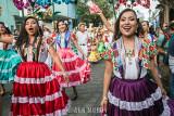 Female dancers from Putla