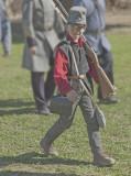 Civil War Re-enactment in Moorpark, California