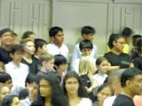 School choir performance