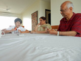 Playing Uno with Nani and Nanu
