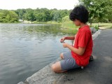 Central Park fishing