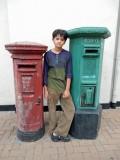 Sri Lankan postal boxes