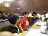 With pals Viraj and Vansh