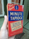 Old tapioca box (front)