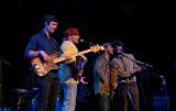 The California Honeydrops main stage Saturday night
