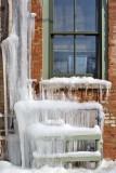 Ice Outside the Window