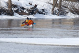 Cold Canoeing