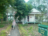 Our lodging at Cat Tien