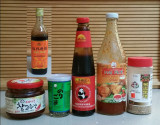 Asian Store Ingredients for Squid Bulgogi