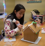 P1150803 Kira working on gingerbread house
