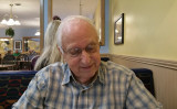 My sweetie on his 85th birthday