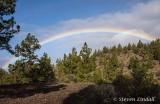 Rainbow over El Teide National Park