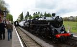 76017 and 53809 at Crowcombe Heathfield.