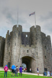 Pembroke Castle Gate House.