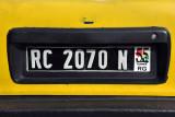 Republic of Guinea license plate