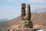 Monument in Tigranashen, renamed after the ancient Armenian king Tigranes the Great