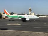 Ouagadougou International Airport - Air Côte d'Ivoire A320 (TU-TSV)