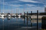Moored yachts in Skagen, Denmark