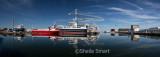 Skagen boat panorama