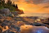 30.42 - Split Rock Lighthouse:  Sun Rising, August 16th