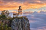 * 40.5 - Split Rock Lighthouse: Dawn, Close-Up