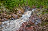Grand Marais: Fall River Cascade