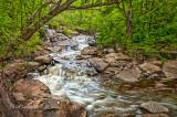 * Duluth: Miller Creek Further Below Foot Bridge