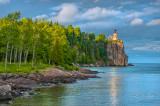 * Split Rock Lighthouse: Evening In Summer Greens