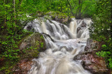 ** 7.2 - Duluth Parks: Tischer Creek, Top Of Lower Falls In Early Summer