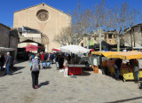 Day 1 Pollenca - we picked up unleaded fuel for  the stove and started our hike thru market