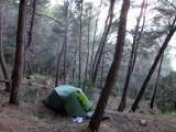 Feb 17 Mallorca GR221 - Camp south of Escallencs