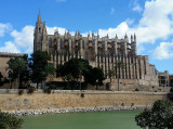 Palma cathedral before flying out