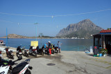 Waiting for the ferry to Telendos island