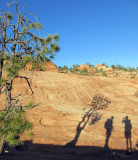 Slickrock above Water Canyon