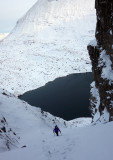 Jan 18 Beinn Eighe going up Lawson, Ling and Glover route
