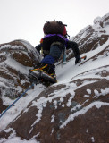 Jan 18 Beinn Eighe - Lawson, Ling and Glover route