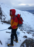 Jan 18 Beinn Eighe Lawson, Ling and Glover route