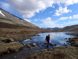 May 18 Ben Nevis - Half way lochan